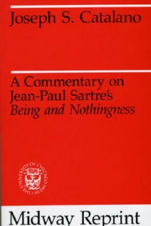 Okładka książki A Commentary on Jean-Paul Sartre's Being and Nothingness