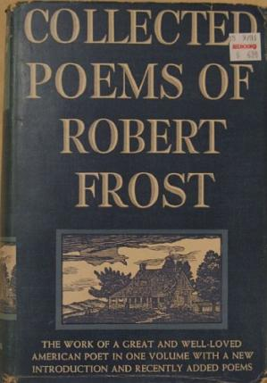 Book cover Collected Poems of Robert Frost