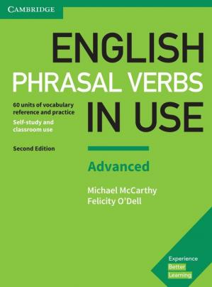 Book cover English Phrasal Verbs in Use - Advanced