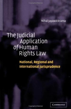 Copertina The Judicial Application of Human Rights Law: National, Regional and International Jurisprudence