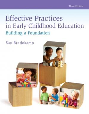 Book cover Effective Practices in Early Childhood Education: Building a Foundation