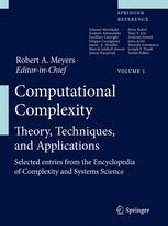 Book cover Computational Complexity: Theory, Techniques, and Applications