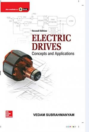 ปกหนังสือ Electric Drives. Concepts and Applications