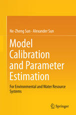 Okładka książki Model Calibration and Parameter Estimation: For Environmental and Water Resource Systems