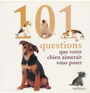 Okładka książki 101 questions que votre chien aimerait vous poser (Nathan) ebook [knowledge4everybody]