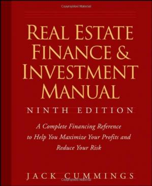 Book cover Real Estate Finance and Investment Manual