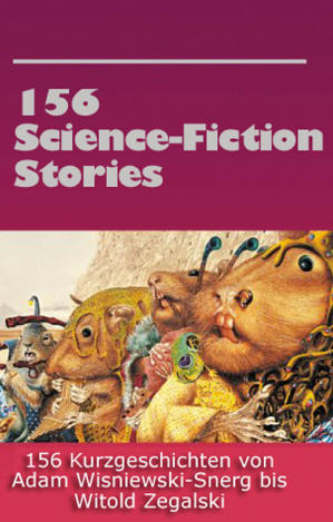 Book cover Diverse 156 Science Fiction Stories