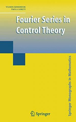 A capa do livro Fourier_series_in_control