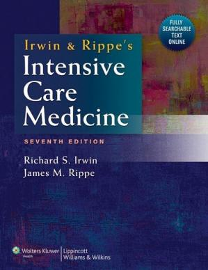 Couverture du livre Irwin and Rippe's Intensive Care Medicine, 7th Edition