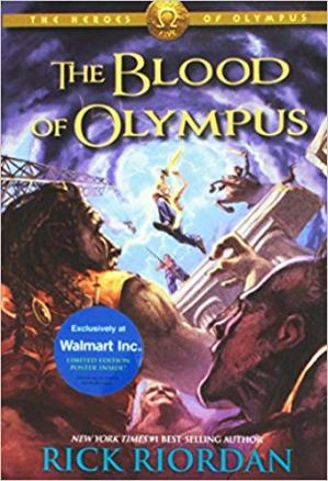 表紙 The Blood of Olympus
