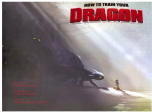 Book cover The Art of How to Train Your Dragon