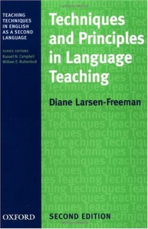 Book cover Techniques and Principles in Language Teaching