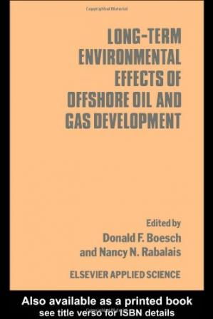 წიგნის ყდა Long-term Environmental Effects of Offshore Oil and Gas Development