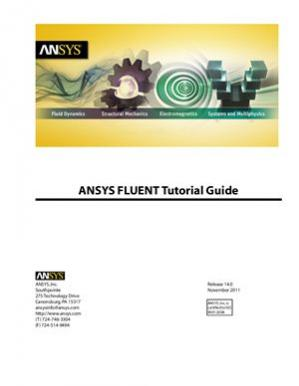 Book cover ANSYS FLUENT 14.0 Tutorial Guide