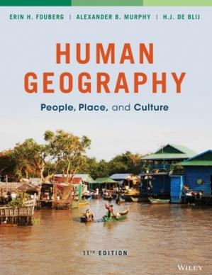 Book cover Human Geography: People, Place, and Culture