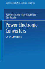Book cover Power Electronic Converters: DC-DC Conversion