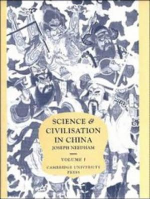 Buchdeckel Science And Civilisation In China, volume 1