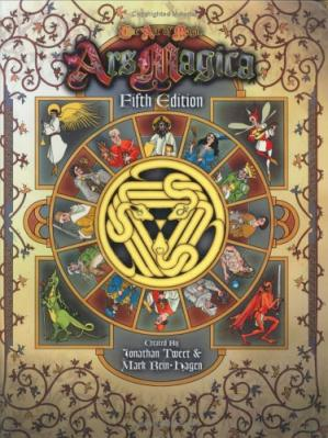 Book cover Ars Magica, Fifth Edition (Ars Magica Fantasy Roleplaying)