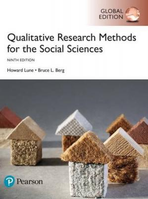 Book cover Qualitative research methods for the social sciences