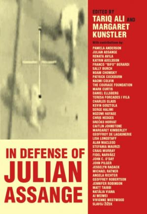 Book cover In Defence of Julian Assange
