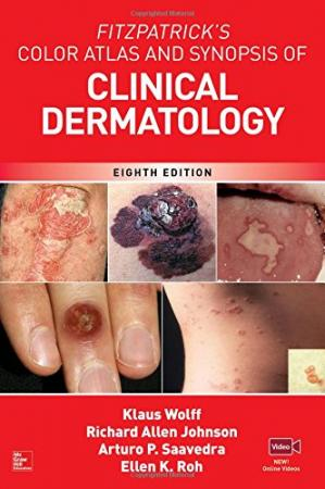 Обложка книги Fitzpatrick's Color Atlas and Synopsis of Clinical Dermatology