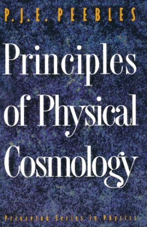 Book cover Principles of Physical Cosmology