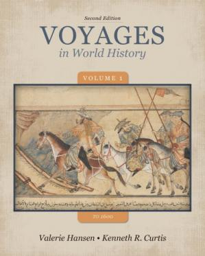Εξώφυλλο βιβλίου Voyages in World History, Volume 1 to 1600