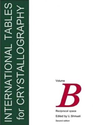 Sampul buku International Tables for Crystallography: Reciprocal Space