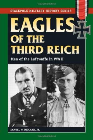पुस्तक कवर Eagles of the Third Reich: Men of the Luftwaffe in WWII