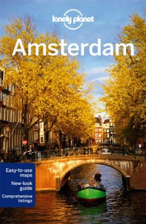 Book cover Lonely Planet Amsterdam