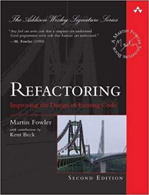 غلاف الكتاب Refactoring: Improving the Design of Existing Code