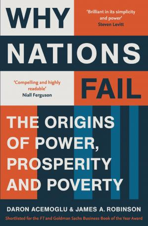 Book cover Why nations fail: the origins of power, prosperity, and poverty