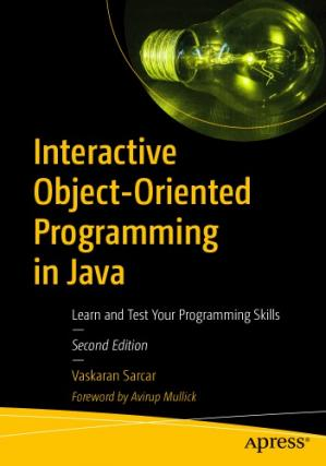 Book cover Interactive Object-Oriented Programming in Java