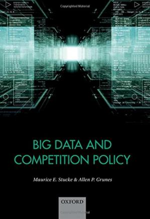 Book cover Big data and competition policy