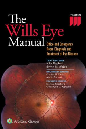 Book cover The Wills Eye Manual