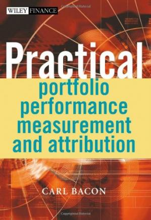 표지 Practical Portfolio Performance Measurement and Attribution (The Wiley Finance Series)