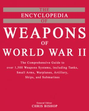 Book cover The encyclopedia of weapons of World War Two Brown Packaging Books Ltd