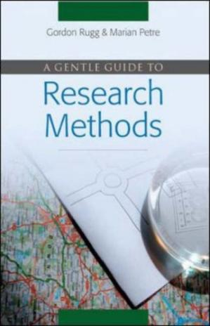 Book cover A Gentle Guide to Research Methods