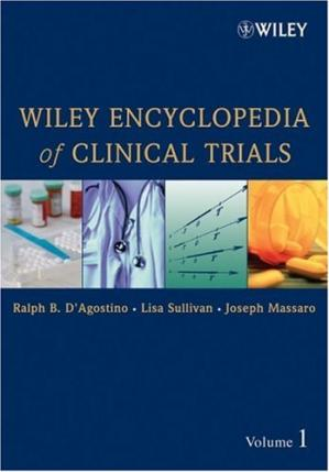 Book cover Wiley Encyclopedia of Clinical Trials