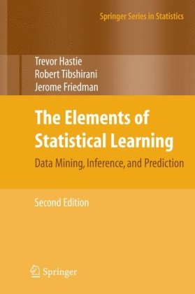 पुस्तक कवर The Elements of Statistical Learning: Data Mining, Inference, and Prediction, Second Edition (Springer Series in Statistics)