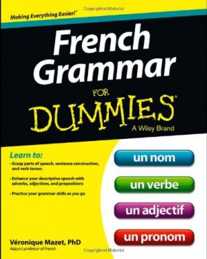 Book cover French Grammar For Dummies