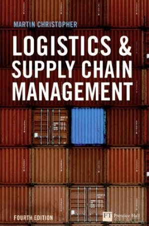 Book cover Logistics and Supply Chain Management
