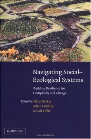 A capa do livro Navigating Social-Ecological Systems:  Building Resilience for Complexity and Change