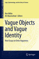 Copertina Vague Objects and Vague Identity: New Essays on Ontic Vagueness