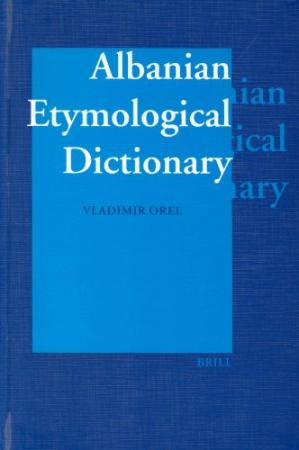 Book cover Albanian Etymological Dictionary