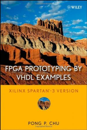 Book cover FPGA Prototyping by VHDL Examples: Xilinx Spartan-3 Version