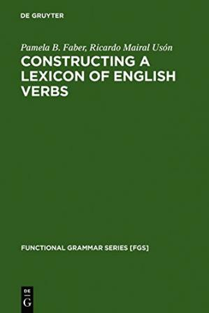 Обложка книги Constructing a Lexicon of English Verbs