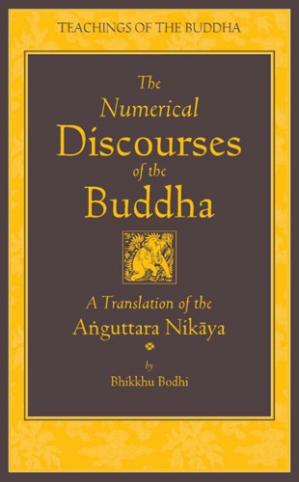 Book cover The Numerical Discourses of the Buddha: A Complete Translation of the Anguttara Nikaya (complete page)