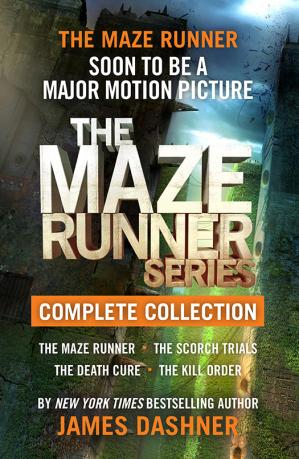 Sampul buku The Maze Runner Series Complete Collection
