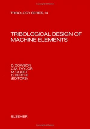 Book cover Tribological design of machine elements
